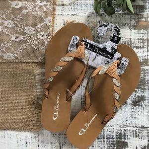 Shoes - Flip Flops, NWT.
